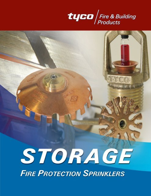 Storage - Tyco Fire Products