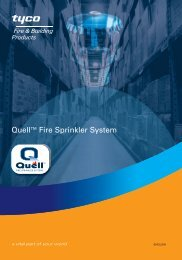 Quell™ System - Tyco Fire Products