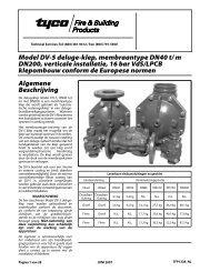 Algemene Beschrijving Model DV-5 deluge-klep, membraantype ...