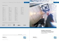 building automation and energy management - Tyco EMEA / ADT ...
