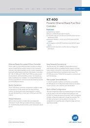 KT-400-EU Powerful, Ethernet-Ready Four-Door Controller