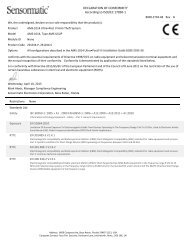 AMS-1014 Ultra•Post VI Anti-Theft System - Certificate of Conformity