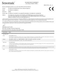 IDX-2000-EU & IDX-8000-EU Reader Sensor Network Appliance ...