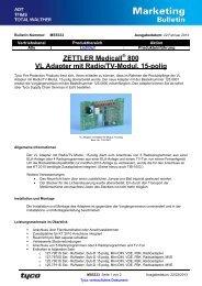 MS5333D VL Adapter 125 0801 - Marketing Bulletin - Tyco EMEA ...