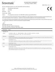 (ZE9030) Anti-theft System - Certificate of Conformity