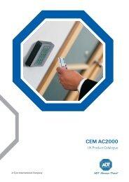 CEM AC2000 Access Control Product Catalogue - Tyco EMEA / ADT ...