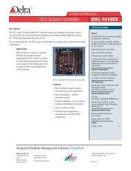 DSC1616-EX DCU System Controller