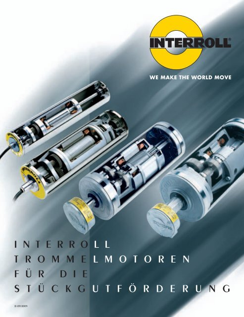 1 Stück Interroll Trommelmotor