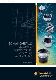 SCHWINGMETALL® Die Original Gummi-Metall ... - Tyma CZ, s.r.o.
