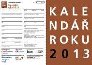 Kalendář roku 2013 - Typografia