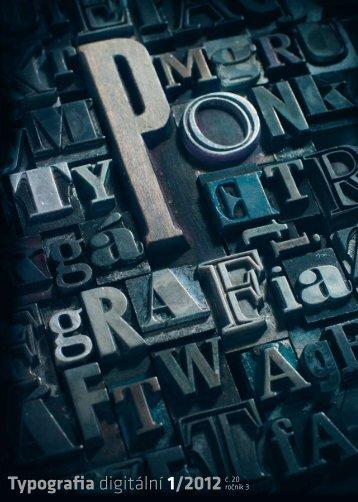 Typografia digitální 1/2012č. 20