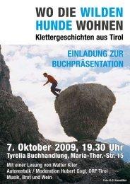 WO DIE WILDEN HUNDE WOHNEN - Tyrolia-Verlag