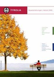Herbst 2009 - Tyrolia-Verlag