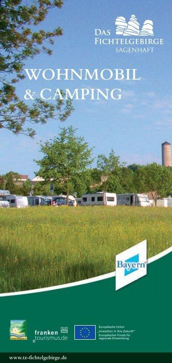 Wohnmobil- und Camping - Das Fichtelgebirge