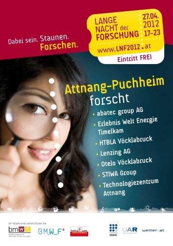 forscht - Technologiezentrum Attnang-Puchheim