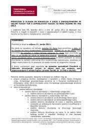 Pravilnik o vlogah in dokazilih v zvezi z zaposlovanjem in delom tujcev