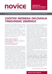 3 Novice TZS jan 2007.indd - Trgovinska zbornica Slovenije