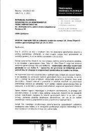 Dopis TZS - Trgovinska zbornica Slovenije