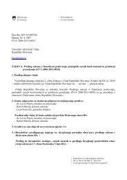 Predlog Zakona o finančnem poslovanju, postopkih zaradi ...