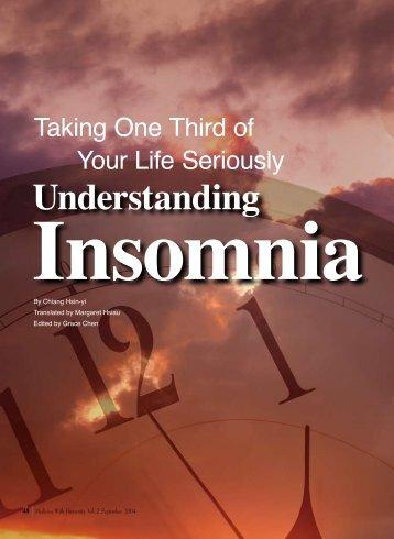 48 Understanding Insomnia