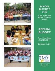 FINANCIAL SECTION - School District U-46
