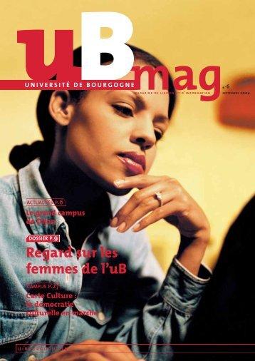 Télécharger uBmag 06 - Université de Bourgogne