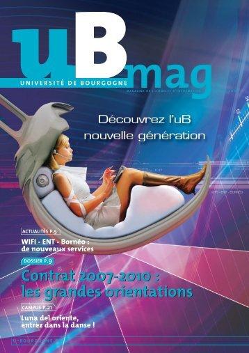 Télécharger uBmag 09 - Université de Bourgogne