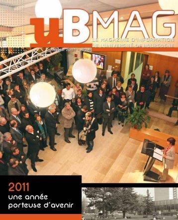 Télécharger uBmag 14 - Université de Bourgogne