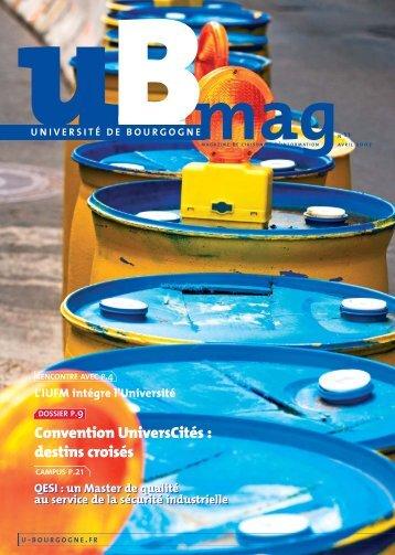 uBmag N°11 - Université de Bourgogne