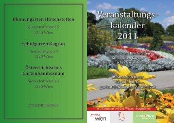 Veranstaltungs- kalender 2011