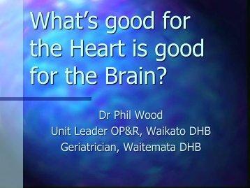 Can we slow the aging of the brain? - U3A Wakatipu