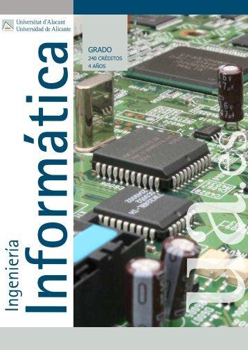 ingeniería informática - Universidad de Alicante