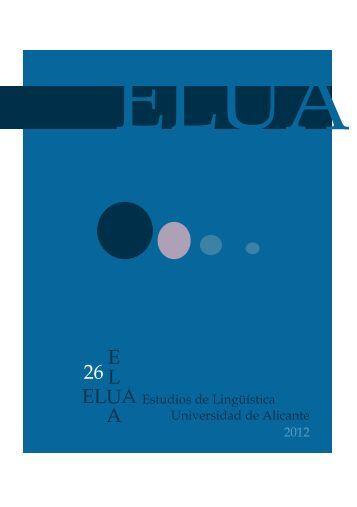 26 E L U A 6 - Universidad de Alicante