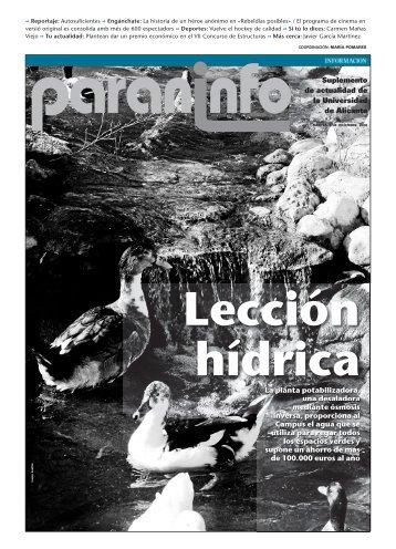 Diario Información - 09/12/2008 - Universidad de Alicante