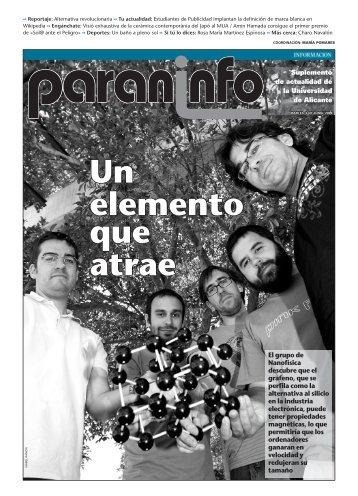 Diario Información - 02/06/2009 - Universidad de Alicante