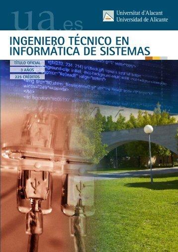 Ingeniero Técnico en Informática de Sistemas - Universidad de ...
