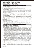 Maestro: especialidad Educación Musical - Universidad de Alicante - Page 2