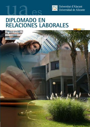Relaciones Laborales - Universidad de Alicante