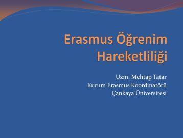 Erasmus Öğrenim Hareketliliği - Ulusal Ajans