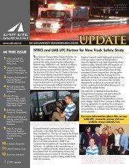 UAB UTC Update, Spring 2011 - The University of Alabama at ...