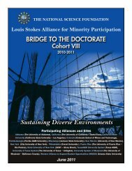 Bridge to the Doctorate - The University of Alabama at Birmingham