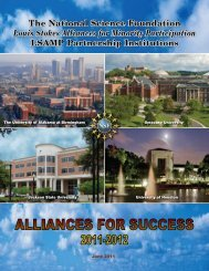 LSAMP Partnership Institutions - The University of Alabama at ...