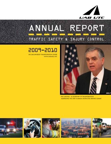 AnnuAl RepoRt - University of Alabama at Birmingham