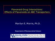 Flavonoid-Drug Interactions: Effects of Flavonoids on ABC ...