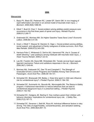 a PDF file of the publications from previous years - University of ...