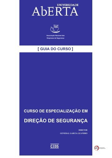 DIREÇÃO DE SEGURANÇA - Universidade Aberta