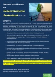 Desenvolvimento Sustentável (5 ECTS) - Universidade Aberta