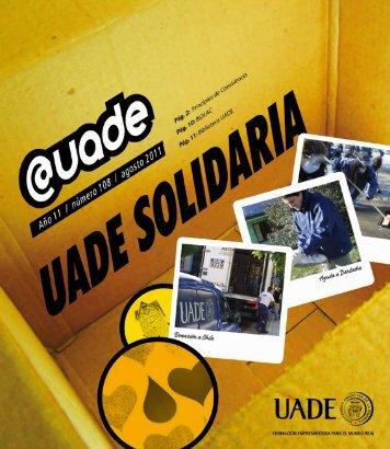 uade solidaria - Universidad Argentina de la Empresa