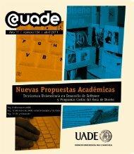 Nuevas Propuestas Académicas - Universidad Argentina de la ...
