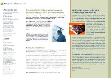 Autoridades Staff - Universidad Argentina de la Empresa